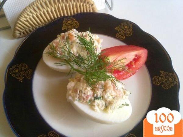 Фото рецепта: «Паста из сыра тофу и подкопченной форелью»