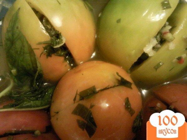 Фото рецепта: «Малосольные помидоры»