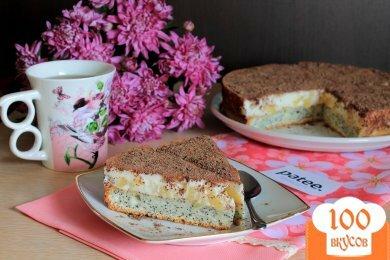 Фото рецепта: «Маковый торт Киевляночка»