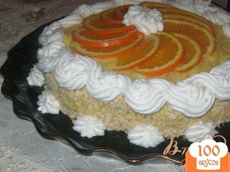 """Фото рецепта: «Торт """"Апельсиновый аромат""""»"""