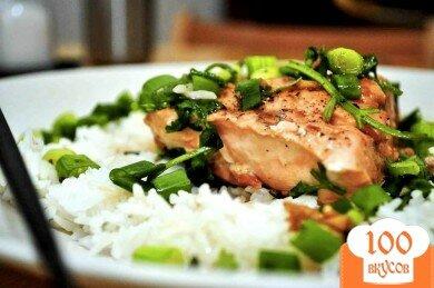 Фото рецепта: «Лосось в имбирном соусе»