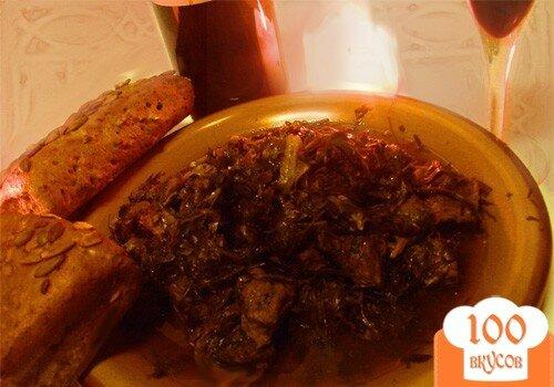 Фото рецепта: «Чакапули - жемчужинa грузинской кухни»