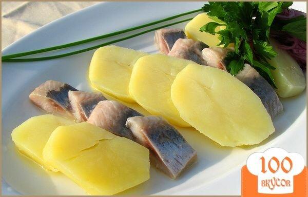 Фото рецепта: «Селедка с картошкой»