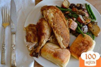 Фото рецепта: «Курица, приготовленная в электрической кастрюле Crockpot»