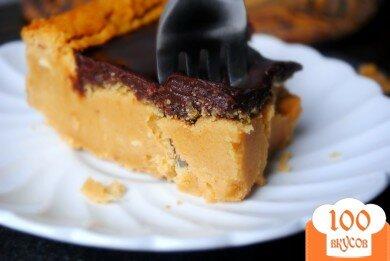 Фото рецепта: «Пирожное с шоколадным ганашем»