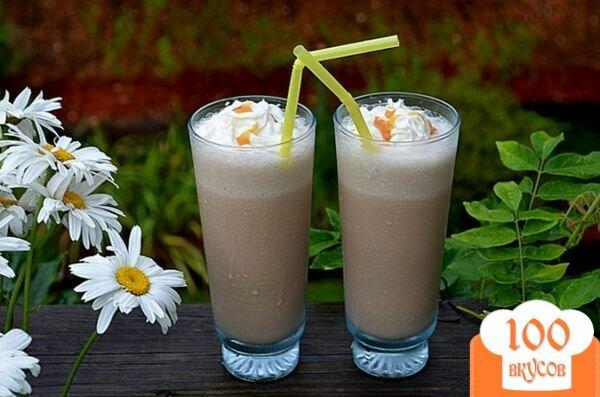 Фото рецепта: «Кофейный молочный коктейль»