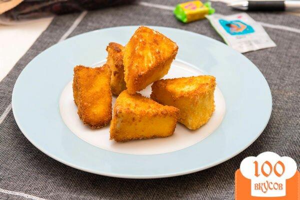 Фото рецепта: «Жареный сыр камамбер»