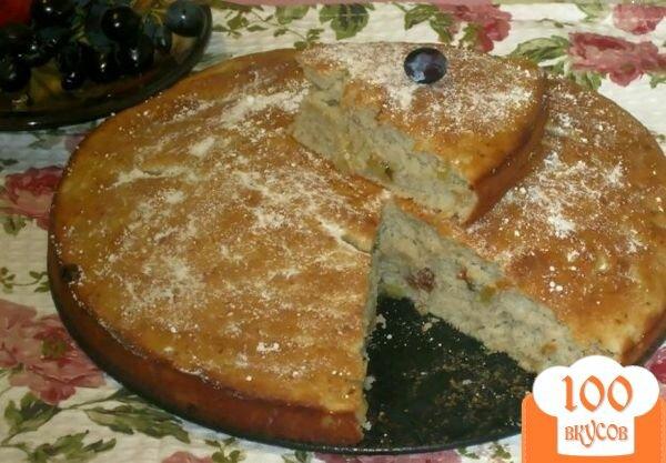 "Фото рецепта: «Пирог ""Неженка"" с яблочным пюре»"