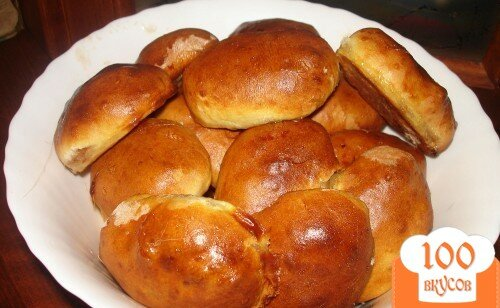 Фото рецепта: «Постные пирожки для ленивой хозяйки»