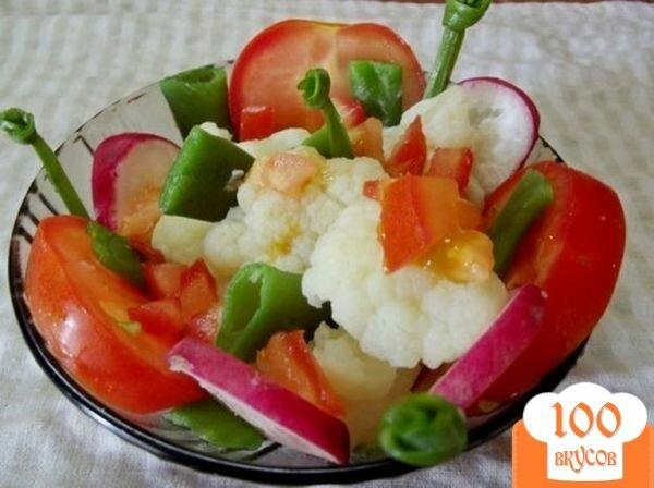 Фото рецепта: «Салат из вареных овощей»