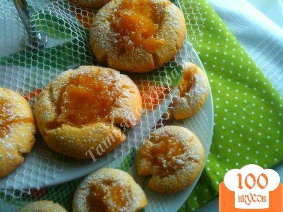 Песочное печенье с начинкой рецепт с пошагово в духовке