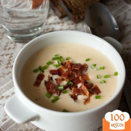 Фото рецепта: «Сырный суп-пюре на пиве»