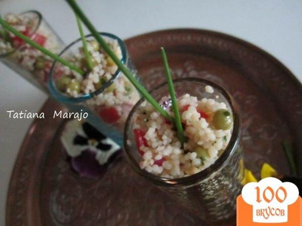 Фото рецепта: «Легкий салат с крупой»