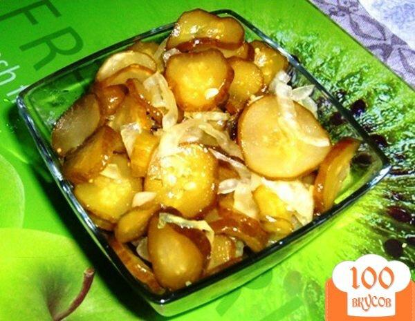 Фото рецепта: «Салат из огурцов»