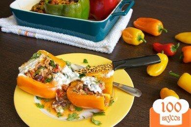 Фото рецепта: «Фаршированный перец по-мексикански»