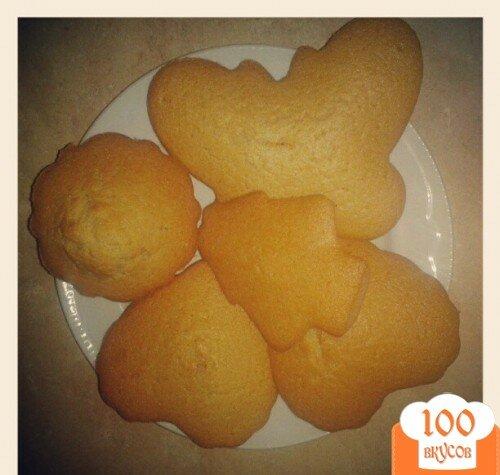 Фото рецепта: «Манные кексики»