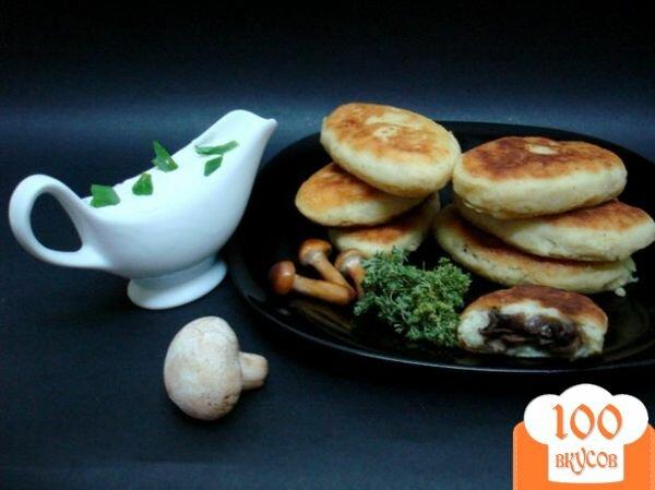 Фото рецепта: «Картофельные зразы с шампиньонами»