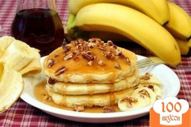 Фото рецепта: «Банановые оладьи»