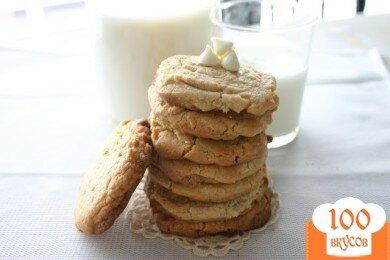 Фото рецепта: «Печенье с белым шоколадом»