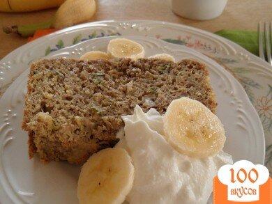 Фото рецепта: «Хлеб киноа с бананами и цуккини»