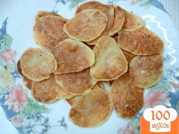 Фото рецепта: «Чипсы картофельные»
