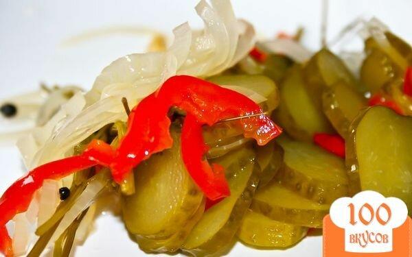 Фото рецепта: «Огурцы по-болгарски»