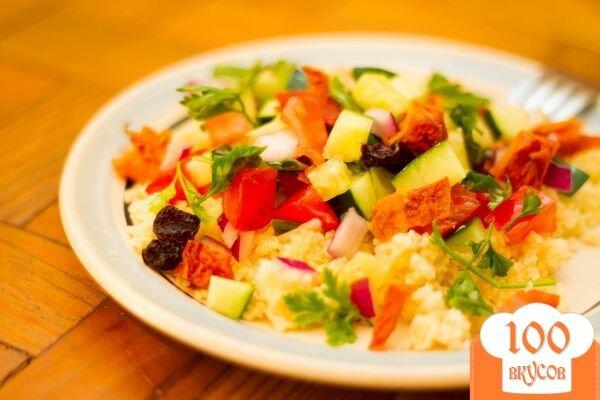Фото рецепта: «Салат из кускуса»