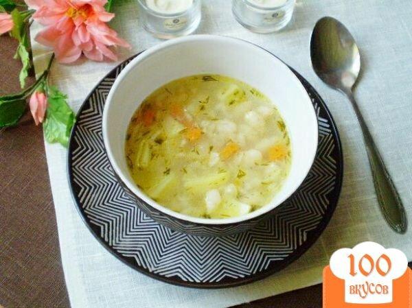 Фото рецепта: «Овсяный суп с фасолью»