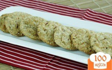 Фото рецепта: «Крекеры с тмином»