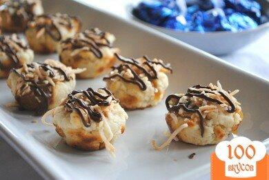 Фото рецепта: «Карамельно-кокосовое печенье»