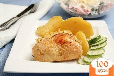 Фото рецепта: «Запеченные куриные бедра»