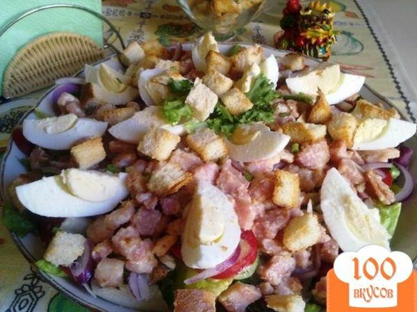 Фото рецепта: «Деревенский салат»