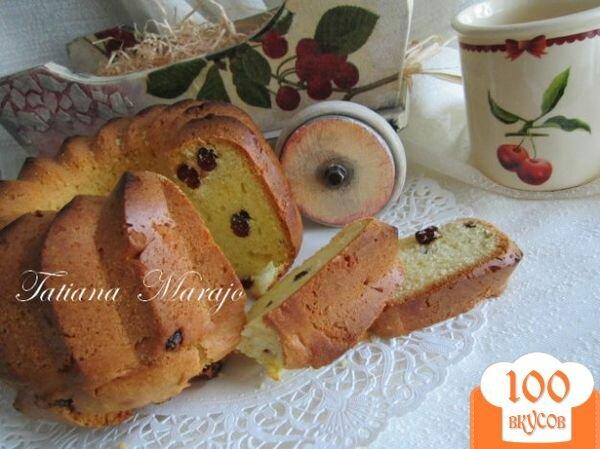 Фото рецепта: «Кекс с вяленой вишней»