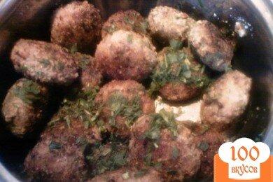 Фото рецепта: «Котлеты с сырной начинкой»
