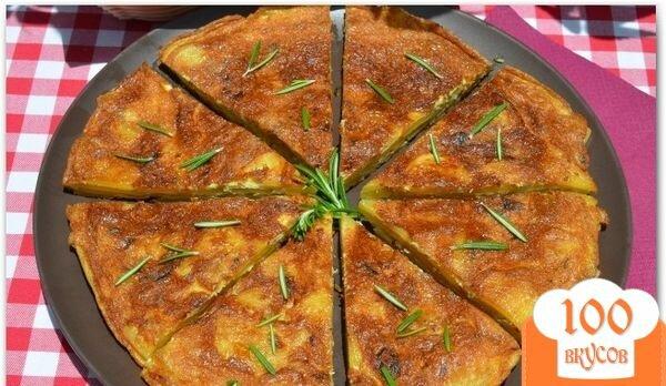 Фото рецепта: «Испанская тортилья с розмарином»