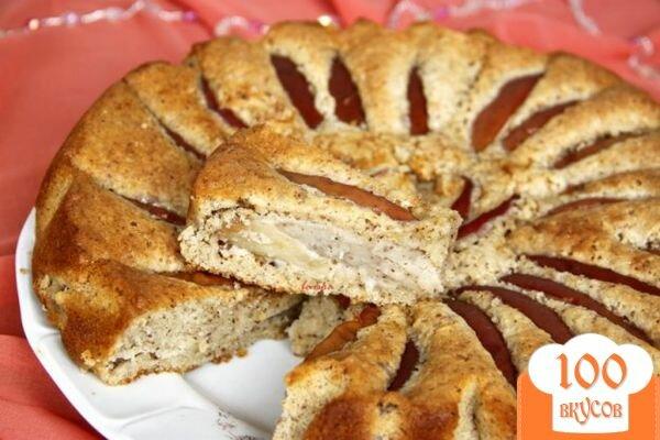 Фото рецепта: «Миндально-яблочный пирог»