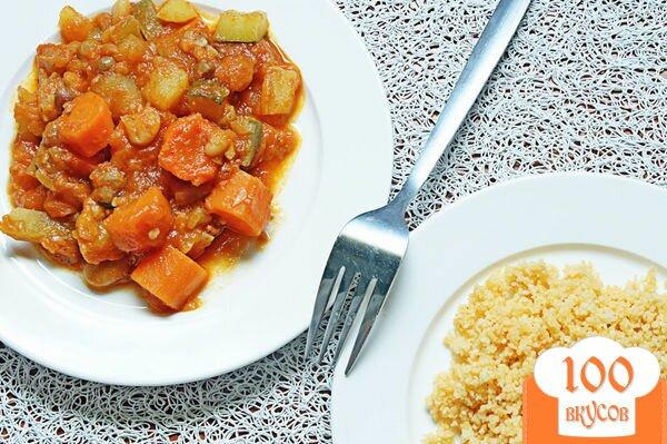 Фото рецепта: «Овощной кускус»