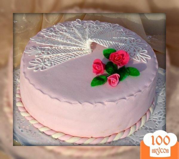 """Фото рецепта: «Торт """"Нежность""""»"""