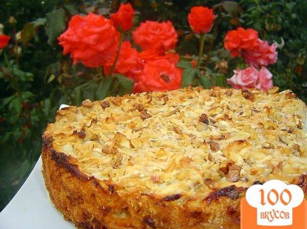 Фото рецепта: «Яблочный пирог болгарский»