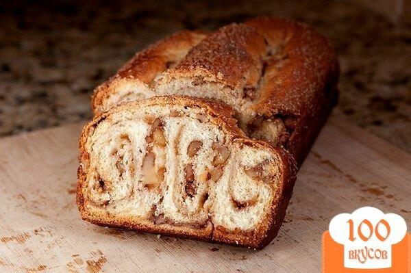 Фото рецепта: «Ореховый рулет»