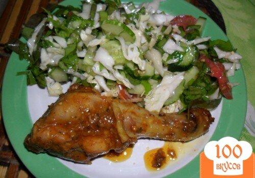 Фото рецепта: «Курица запеченная в духовке»