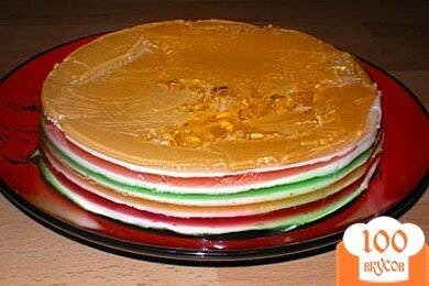 Фото рецепта: «торт «Радуга»»