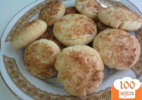 Фото рецепта: «Печенье в кокосовой панировке»