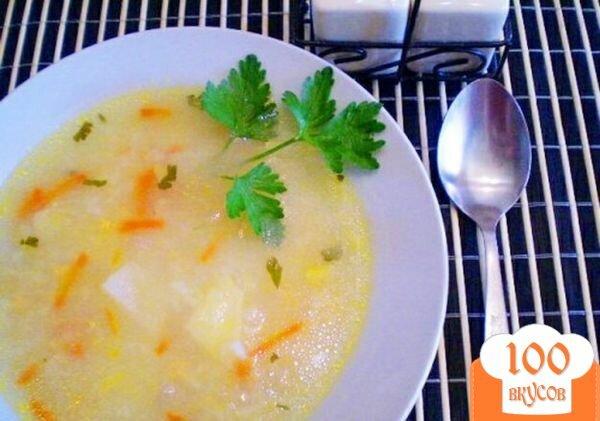 Фото рецепта: «Рисовый суп с икрой карася»