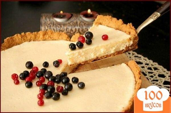 Фото рецепта: «Пирог со сгущенкой»