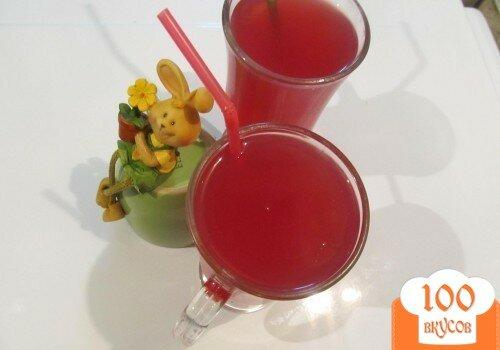 Фото рецепта: «Киселик из красной смородины»