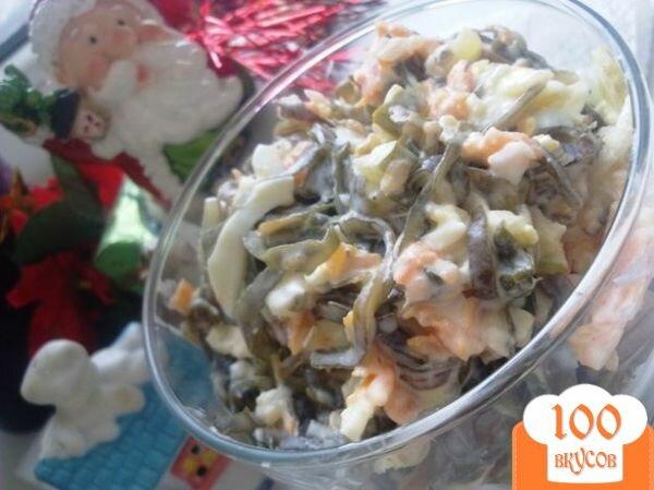 Фото рецепта: «Салат из морской капусты»