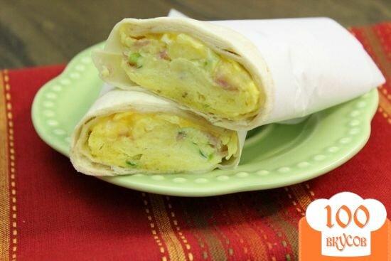 Фото рецепта: «Буритос по-мексикански»
