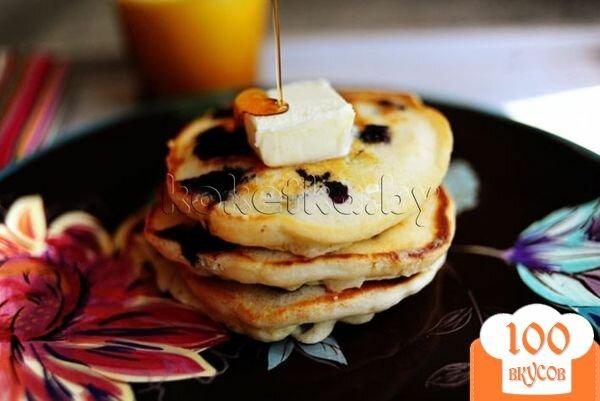 Фото рецепта: «Пышные оладьи на молоке»