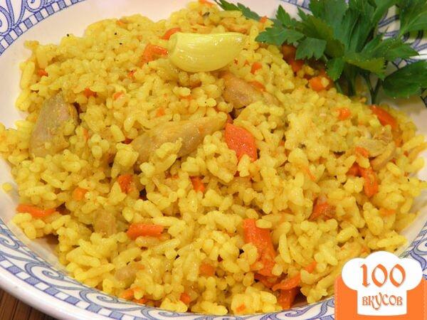Фото рецепта: «Узбекский плов с курицей»